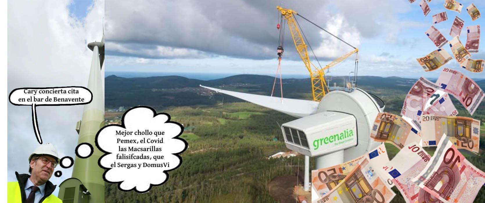 Feijóo facilita a destrucción e recortes nas Fragas do Eume para beneficiar  o negocio das eólicas - Xornal Galicia | Xornal Galicia