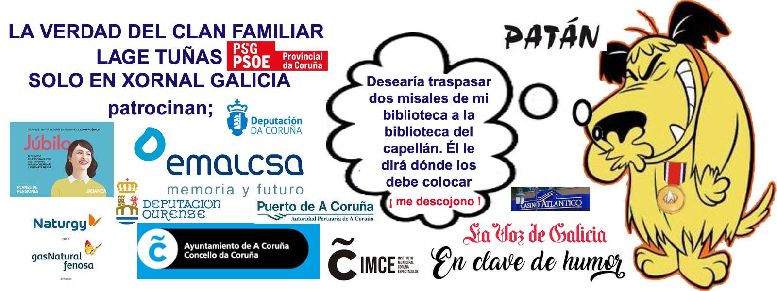 "LAGE TUÑAS TRATA A LOS CIUDADANOS/AS DE A CORUÑA DE SUS CLIENTES PARA  ENTRARLES A ""SACO"" AL BOLSILLO. - Xornal Galicia | Xornal Galicia"