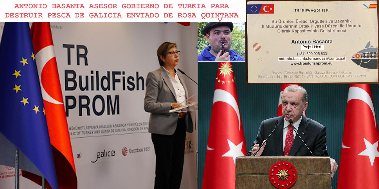 PPdeG utiliza un del partido infiltrado en la Xunta para colaborar con el  Gobierno de Turquia, Erdoğan para destruir sector pesquero de Galicia con  fondos europeos y violar los derechos humanos. -