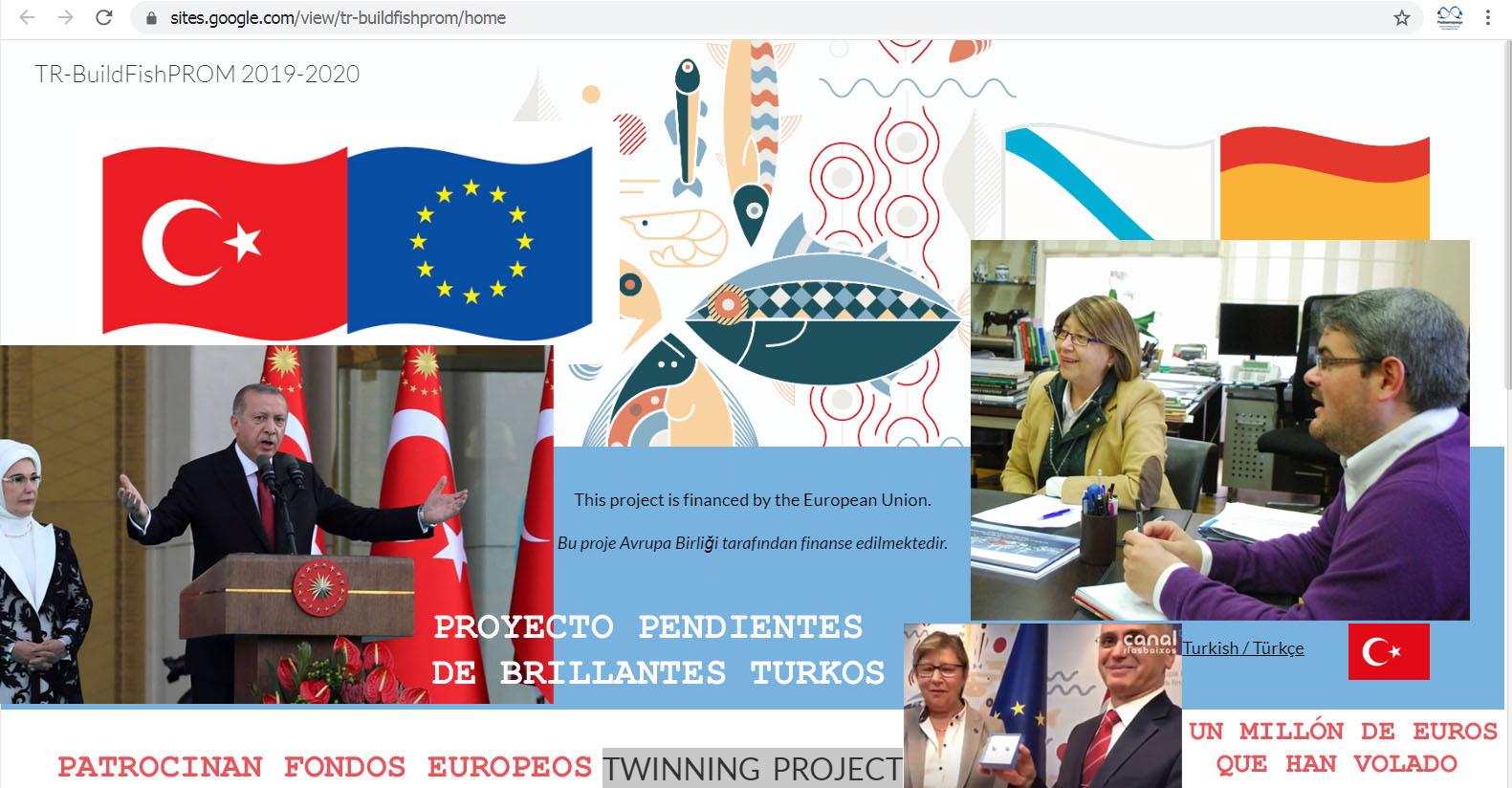 Rosa Quintana y Antonio Basanta despliegan en Turkia bajo sus cargos  políticos un modus operandi de presunta malversación de fondos europeos que  han volado y para destruir de la pesca gallega. -