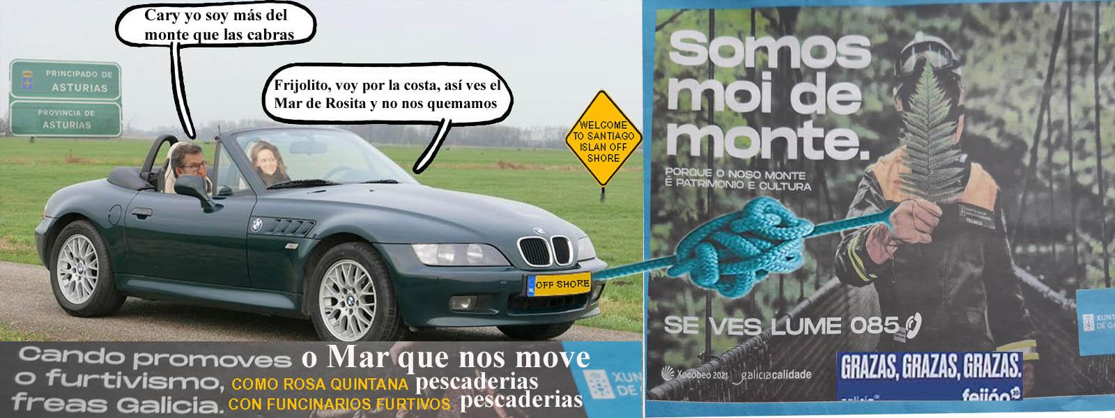 """A fraude da publicidade adxudicada en campañas con fondos europeos de la  pesca de María del Mar Sánchez Sierra """" O Mar que nos Move"""" esta provocando  crispación e malestar no sector"""
