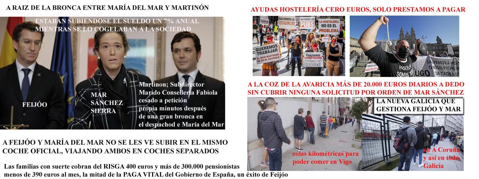 Mar Sánchez Sierra financia con dinero público de forma inmoral y sin  ningún tipo de rubor FAKE NEWS para tapar sus subidas de sueldo a costa del  hambre y miserias de Galicia