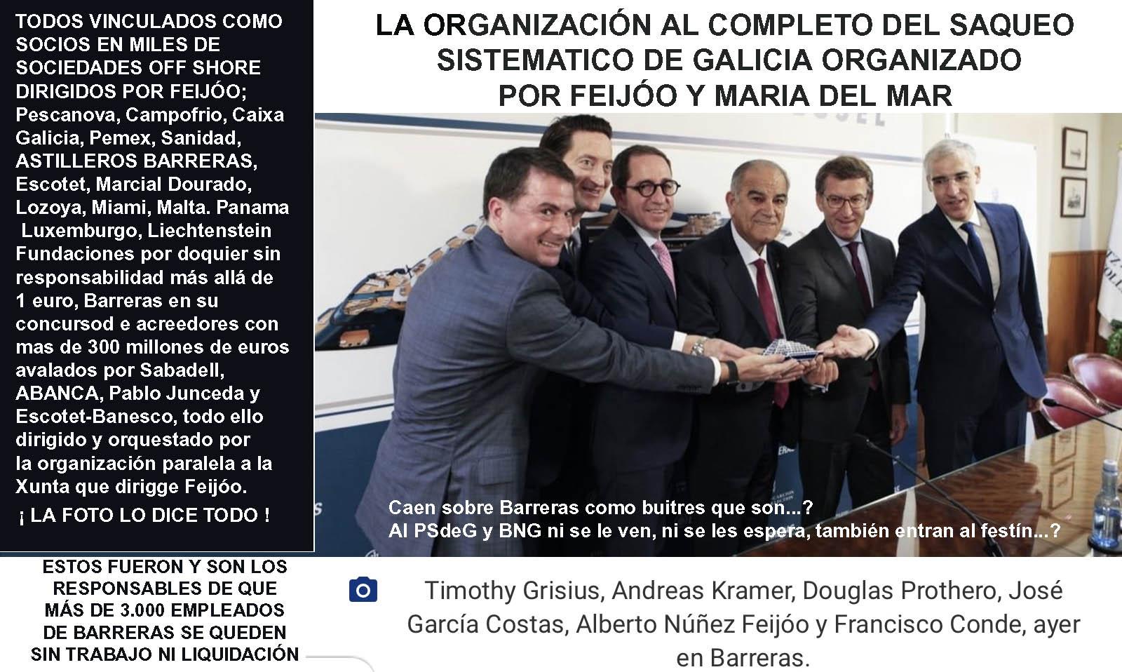 """Exclusiva; Feijóo según fuentes de Xornal Galicia retoma la gestión de  Pemex y pretende clonarla en Asturias junto al Consul de México y Jose  Suárez el """"El Atunero"""" con un barco de"""