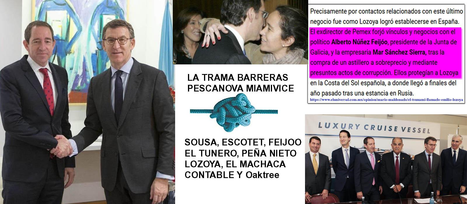 """Astilleros Barreras, Pescanova mismos cabecillas, MISMO """"modus operandi""""  liderados por Feijóo Y Mar Sánchez Sierra, a través de los fondos buitre,  bancos, y ordenes desde Miami Vice. - Xornal Galicia"""