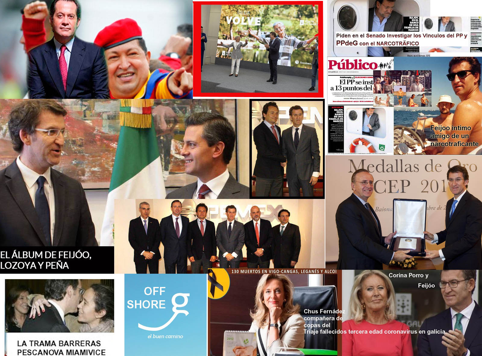 """Sr Feijóo nos acercamos a la clave de su éxito en la Xunta.- La """"clave  Marcial Dourado """" Uno de sus socios de correrías en tres empresas en Malta""""  de navegación por"""