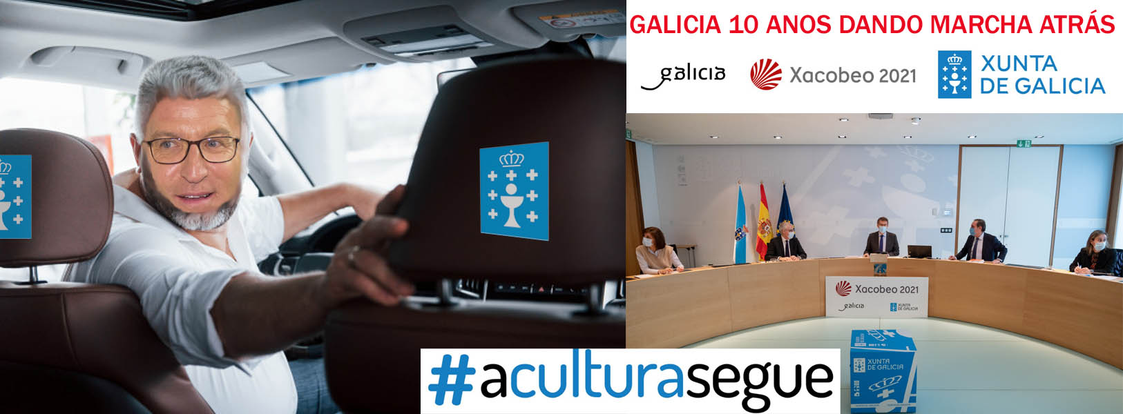 Feijóo dirige un gobierno de muertos vivientes que basan su gestión en la MARCHA  ATRÁS, #GaliciaGaliciaGalicia #Galiciavolve ja,ja,ja orgullosos de ser  galeg@s. - Xornal Galicia