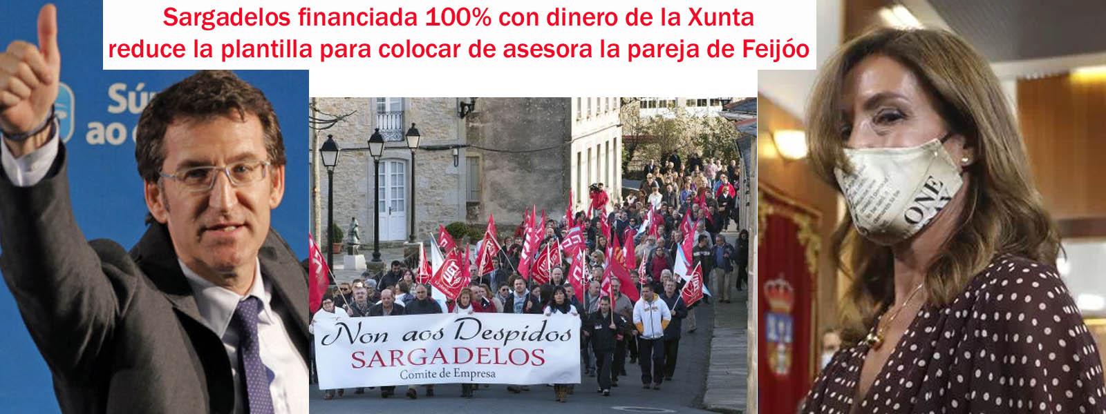 """El """"clan familiar de Feijóo"""" suma a los sueldos públicos a su pareja Eva  Cardenas en Sargadelos financiada 100% con fondos públicos de la Xunta de  Galicia o lo que es lo"""
