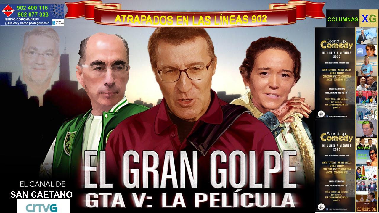 EL GRAN GOLPE EN SAN CAETANO LINEAS 902 - Xornal Galicia