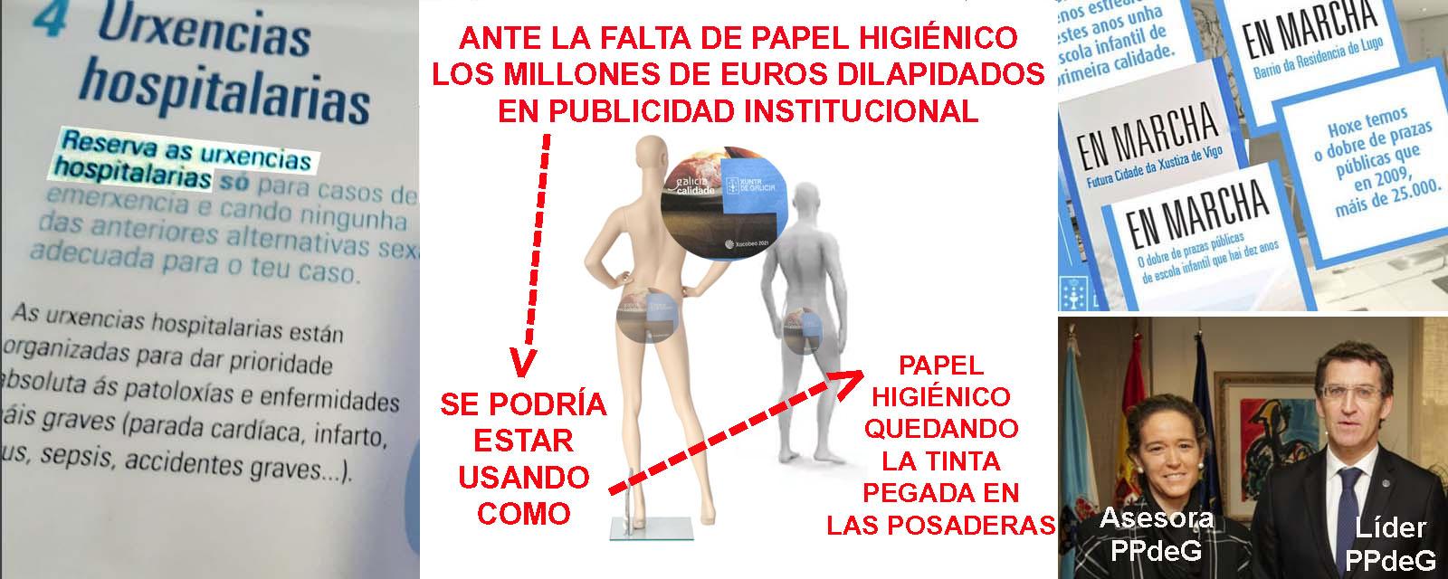 PUBLICIDADUTILIZADACOMOPAPELHIGIENICOPARALIMPIARELCULO