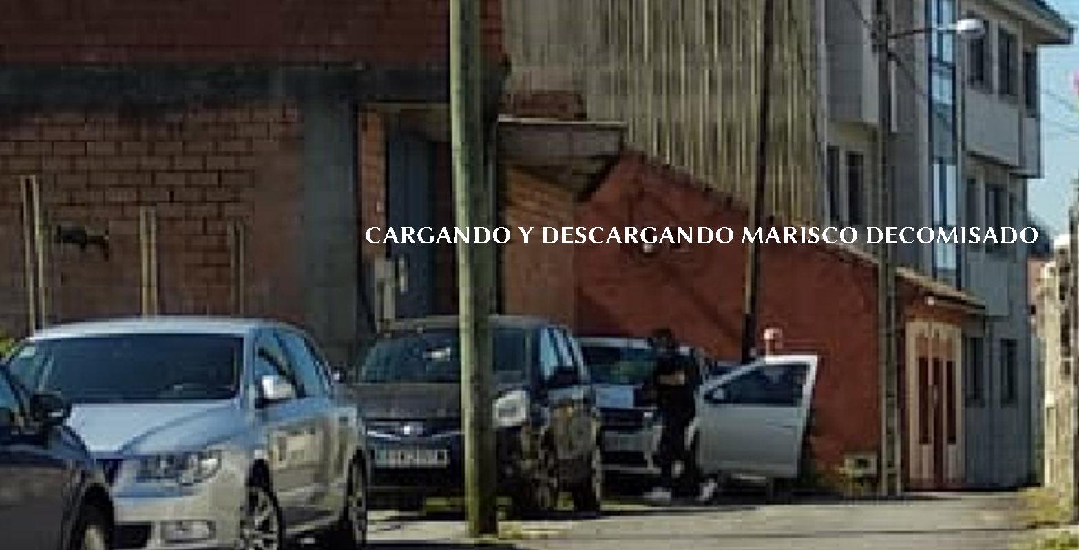2 CARGANDOYDESCARGANDO MARISCO funCionariodelaconselleriadomar arosa prevaricador