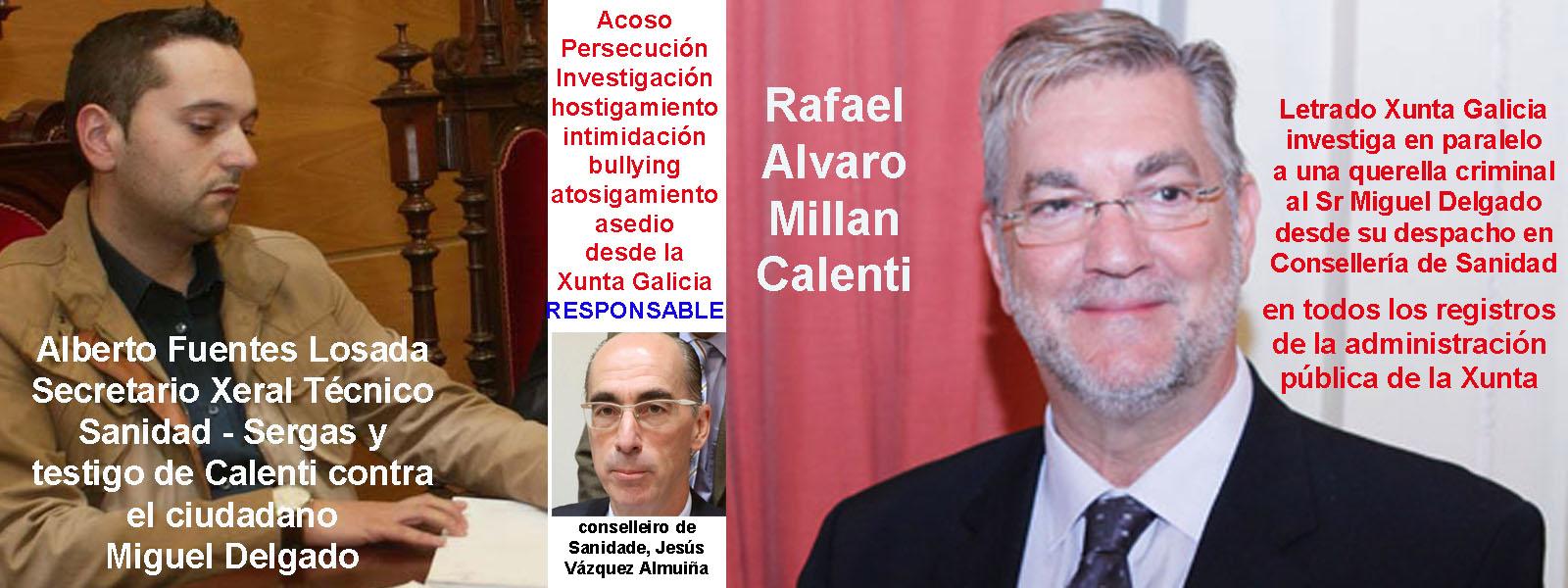 Alberto Fuentes Losada Secretario Xeral Tecnico de Sanidad se ...