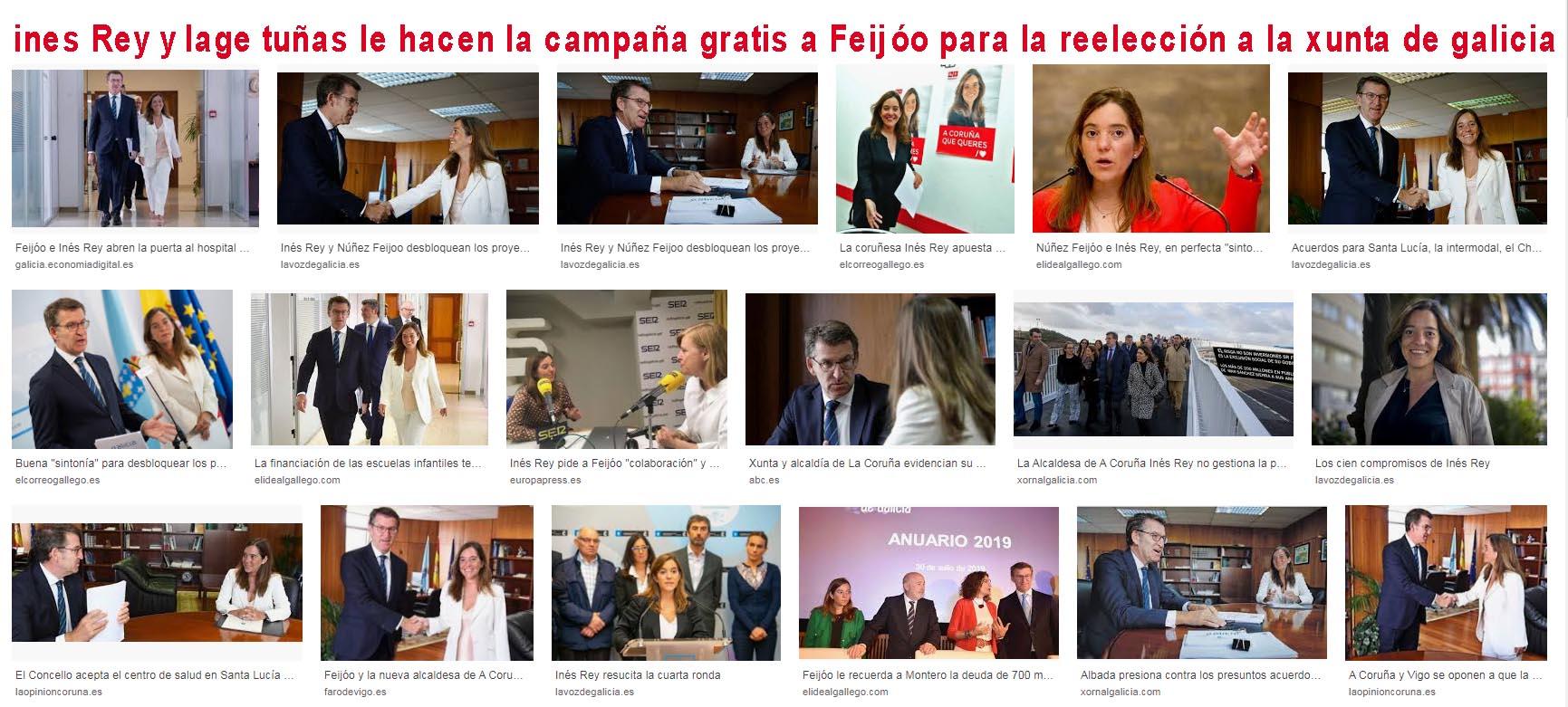 """A la alcaldesa Ines Rey """"se le ve de que lado cogea con el art 20 de la  Constitución con Xornal Galicia y los periodistas"""" EN UNA ENTREGA DEL PÉREZ  LUGÍN EN"""
