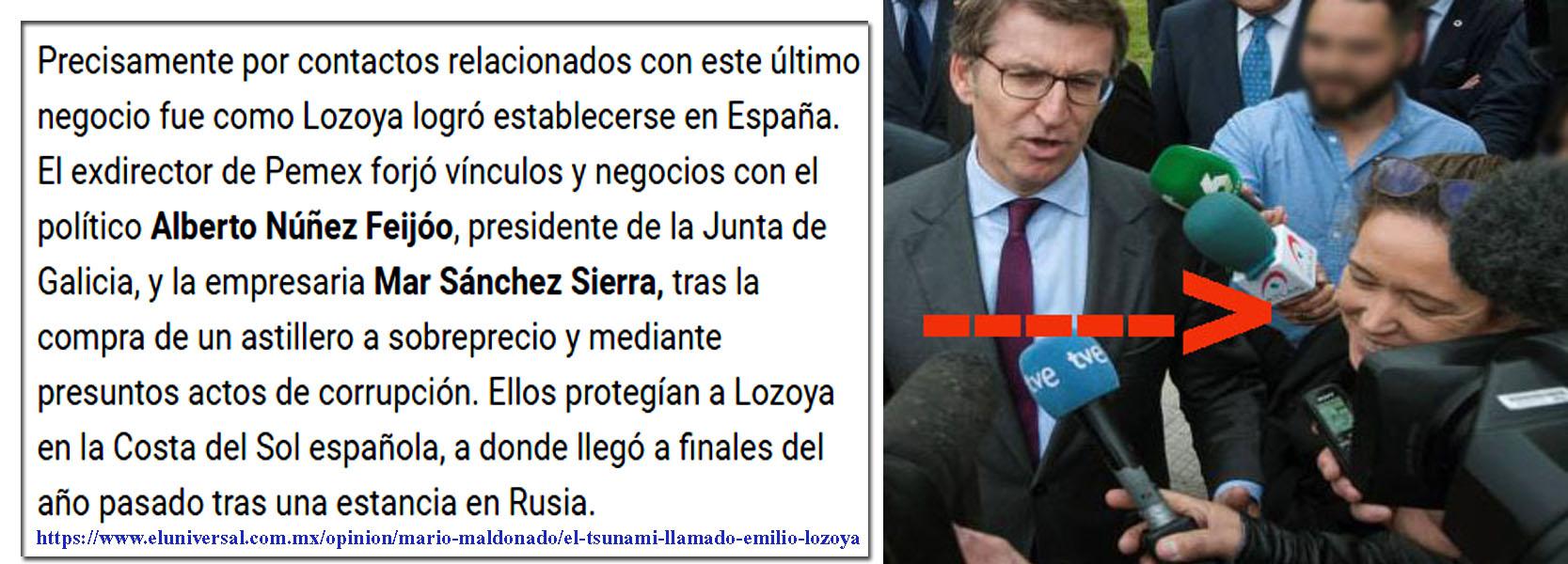 Las vinculaciones de Feijóo y Mar Sánchez Sierra con la corrupción ...
