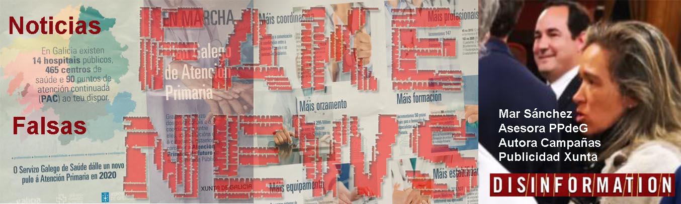 """Feijóo y mar Sánchez utilizan dinero publico en panfletos con publicidad  engañosa """"FAKE NEWS"""" prohibida por la Junta Electoral y la Ley sobre la  Sanidad-Sergas en Galicia - Xornal Galicia"""