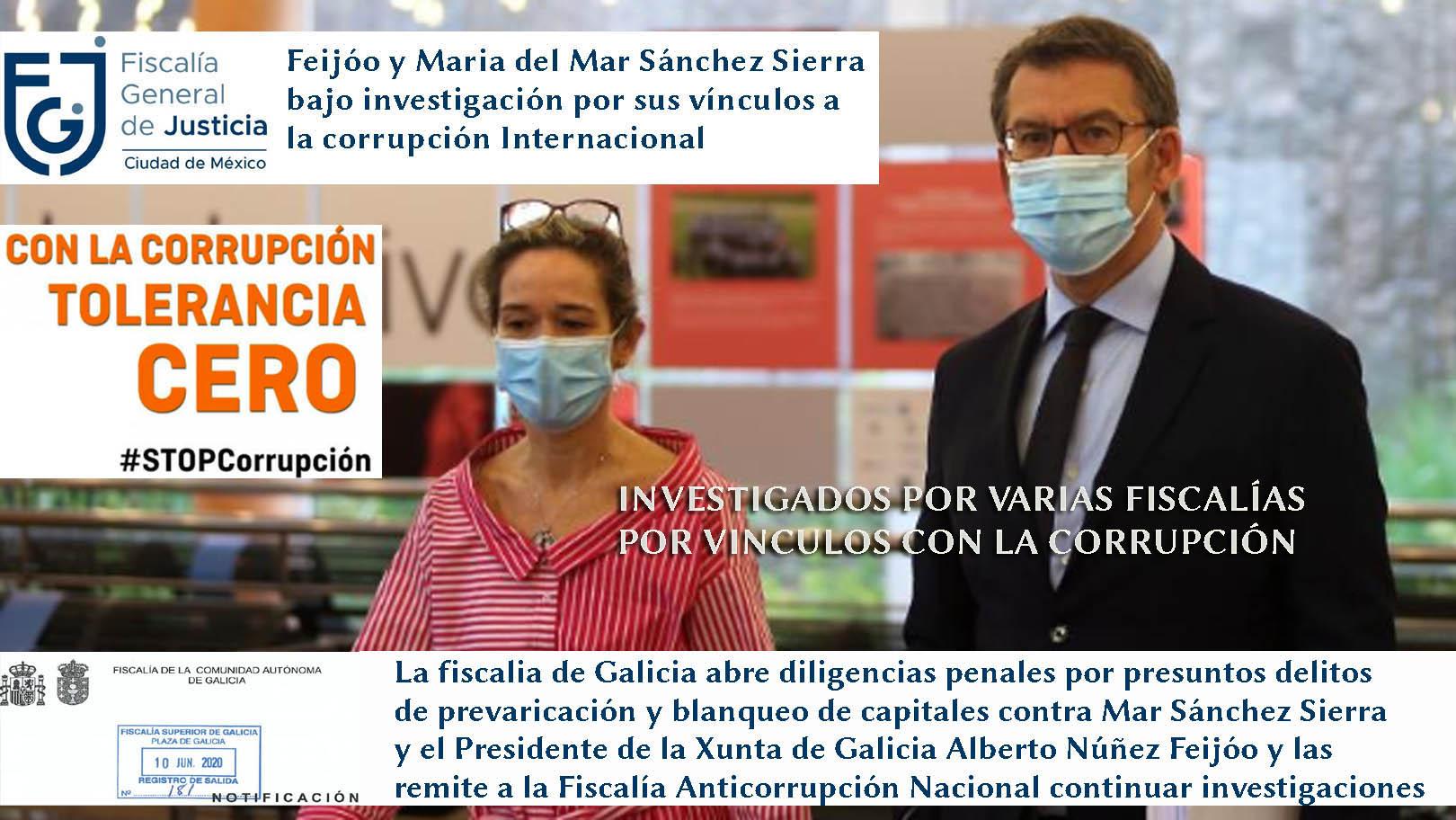 """29 de Septiembre de 2020, medios impresos de Galicia disfrutan de  adjudicaciones de publicidad de María del Mar Sánchez Sierra con el eslogan  """"A Paisaxe que nos guía"""", dinero retirado equivalente a; -"""