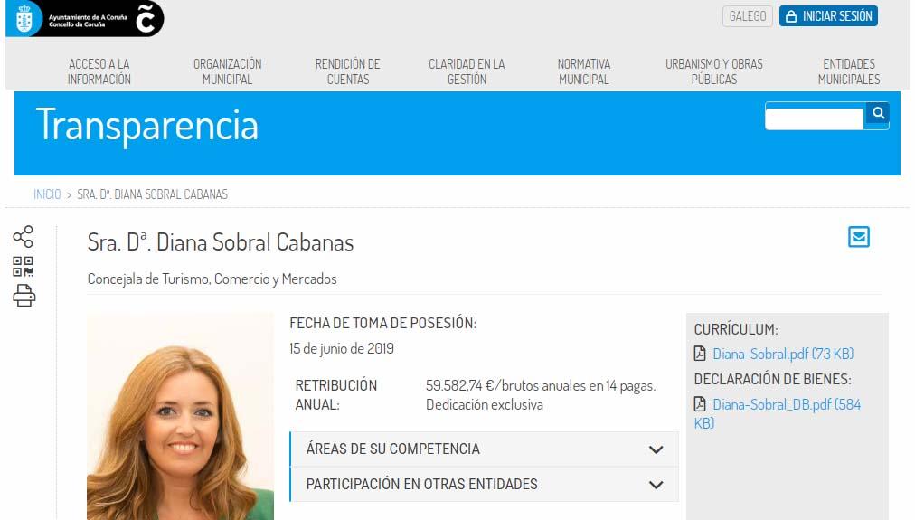 Diana Sobral Cabanas Concello A Coruna