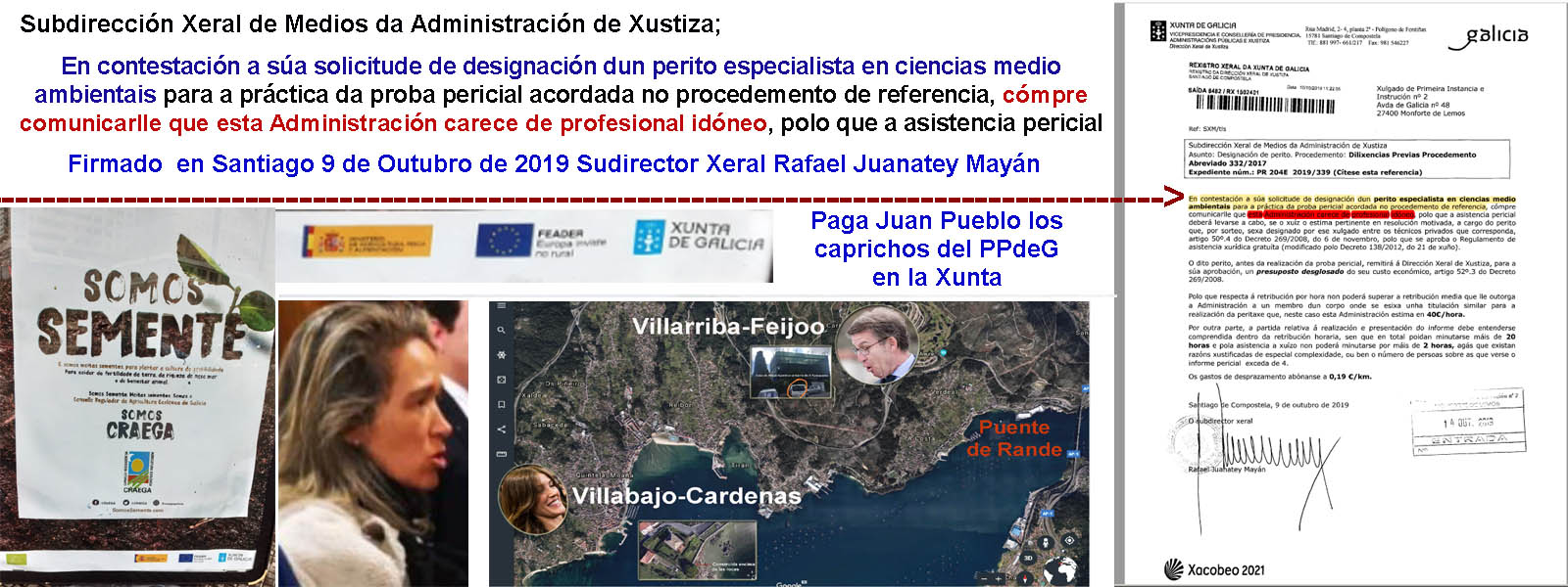 Según Mariano Rajoy, Mar Sánchez Sierra y Feijóo se ponen a VENDER CAMBIOS  CLIMÁTICOS PARA EL 2050 como ofertas del Black Friday para poder pillar los  1.250 M€ para el período 2019-2023