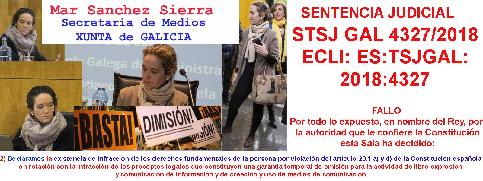 17 de Octubre 2020; El dinero público como forma de blanqueo de capitales.- María del Mar Sánchez Sierra asesora del PPdeG anuncia 4 cuentas bancarias privadas para gestionar donativos anónimos.